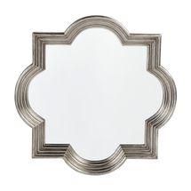 Marrakech Wall Mirror - Small Antique Silver