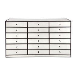 Brentwood 12 Drawer Mirrored Chest