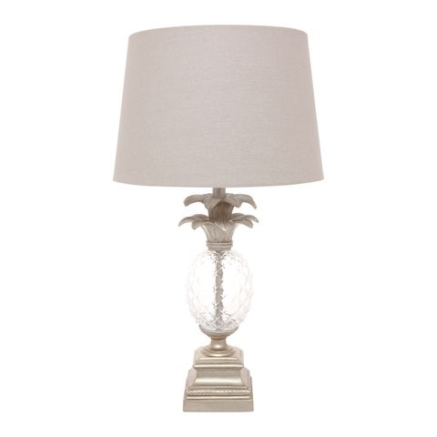 Langley Table Lamp - Antique Silver