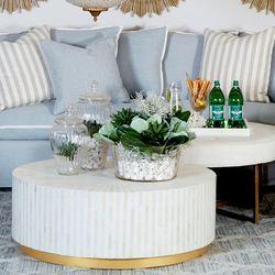Park Avenue Glass Champagne Bowl