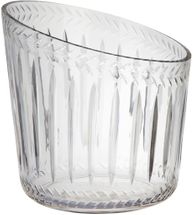 Marseille Glass Ice Bucket