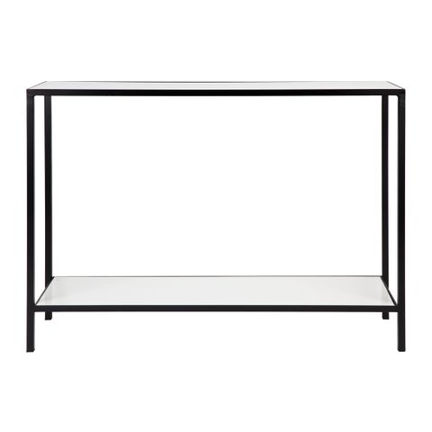 Cocktail Marble Console Table - White