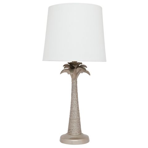 Beverly Table Lamp - Antique Silver