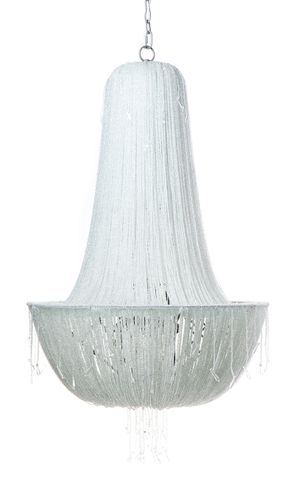 Allegra Chandelier - 8 Arm Clear