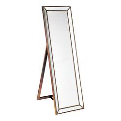 Zeta Cheval Mirror - Antique Gold
