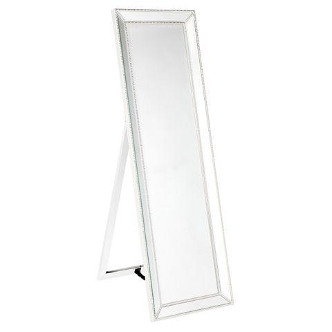 Zeta Cheval Mirror - White