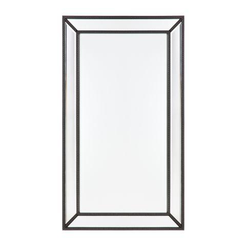 Zeta Wall Mirror - Medium Black