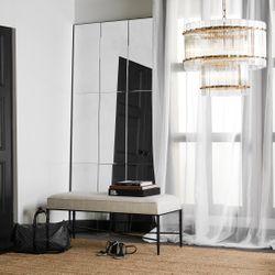 Beluga Floor Mirror