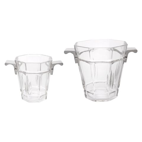 Madison Ave Glass Ice Bucket Range