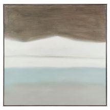 London Fog Oil On Canvas Painting