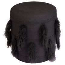 Tibetan Stool - Black