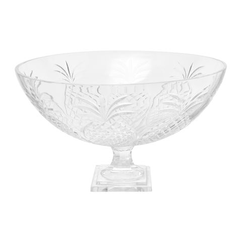 Charleston Glass Fruit Bowl