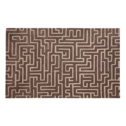 Crete Geometric Hand Tufted Wool Rug