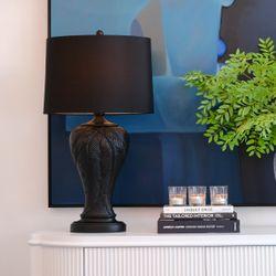 Martinique Table Lamp - Black