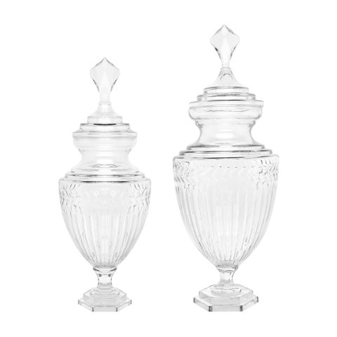 Laurent Glass Temple Jar Range