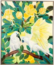 Sitting Cockatoo Wall Art