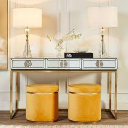 Rochester Mirrored Desk