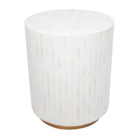 Makayla Bone Inlay Side Table