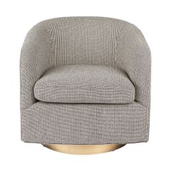 Belvedere Swivel Occasional Chair - Black