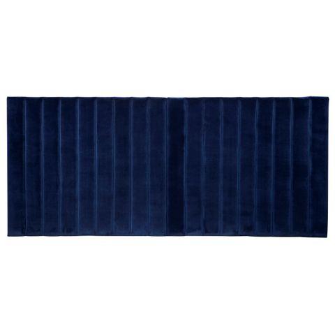 Broadway Panelled Queen Headboard - Navy