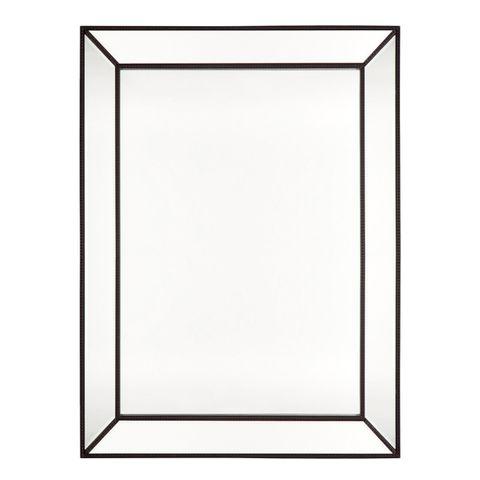 Zeta Wall Mirror - Large Black
