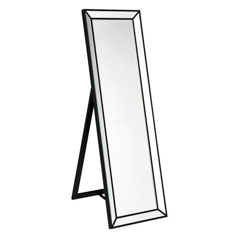 Zeta Cheval Mirror - Black