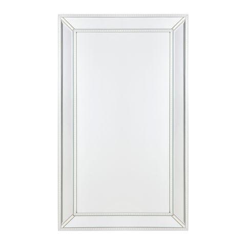 Zeta Wall Mirror - Medium White