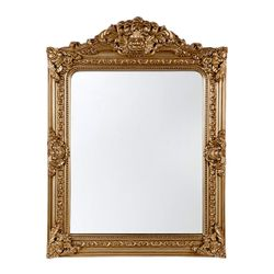 Elizabeth Wall Mirror - Antique Gold