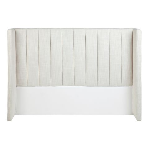 Central Park Winged Queen Headboard - Natural