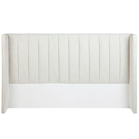 Central Park Winged King Headboard - Natural