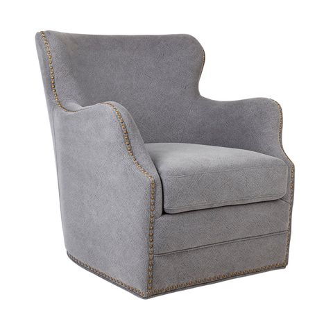Autumn Swivel Occasional Chair - Grey