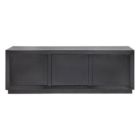 Balmain Oak Buffet - Large Black