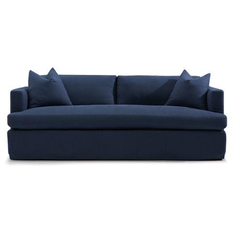 Birkshire Slip Cover 3 Seater Sofa - Navy