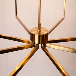 Cohen Chandelier - Brass