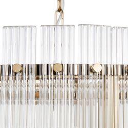 Paloma Pendant - Round Brass