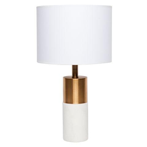Lane Table Lamp - White