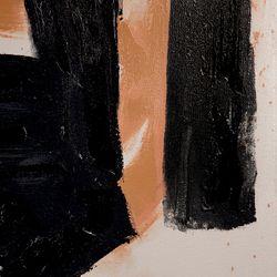 Geometric Wonder Oil On Canvas Painting - Medium