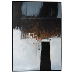 Mystery Road Oil On Canvas Painting