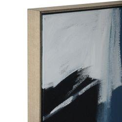 Blue Haze 1 Oil On Canvas Painting - Medium