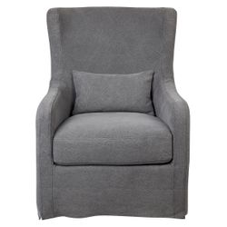 Riviera Slip Cover Occasional Chair - Grey
