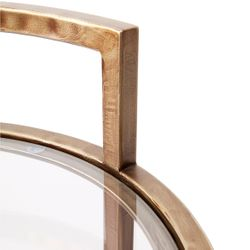 Maxie Side Table - Antique Gold