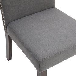 Lethbridge Dining Chair - Light Grey