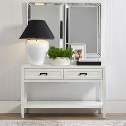 Soloman Console Table - Small White