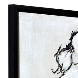 Poised Perfectly Enhanced Canvas Print