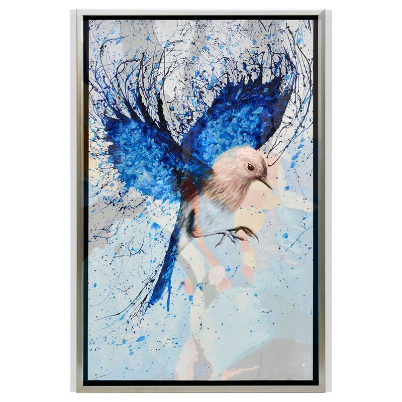 Birds Of Flight Enhanced Canvas Print