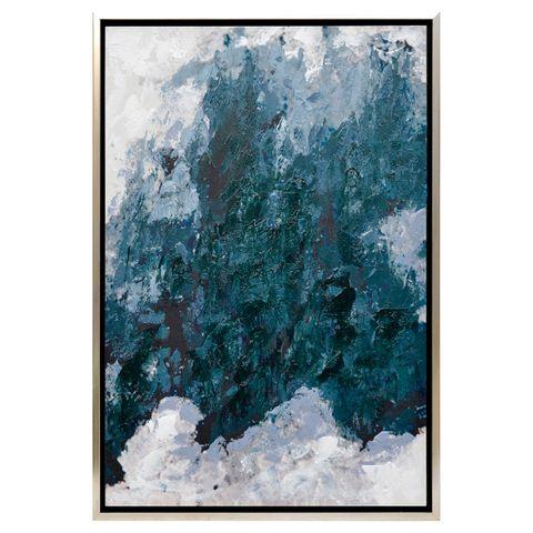 Blurred Lines Enhanced Canvas Print
