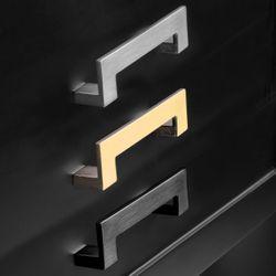 Soloman Console Table - Small Black