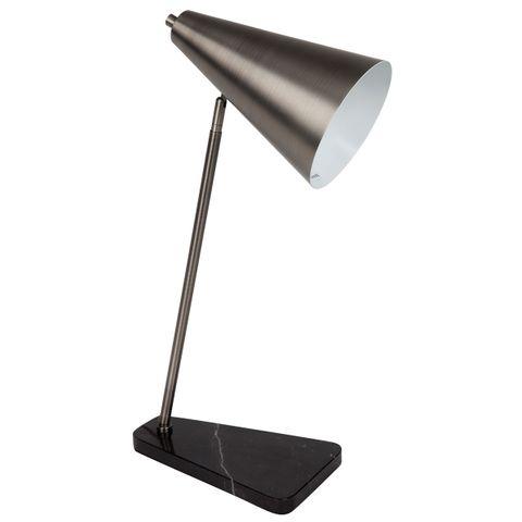 Jaggar Marble Task Lamp - Black