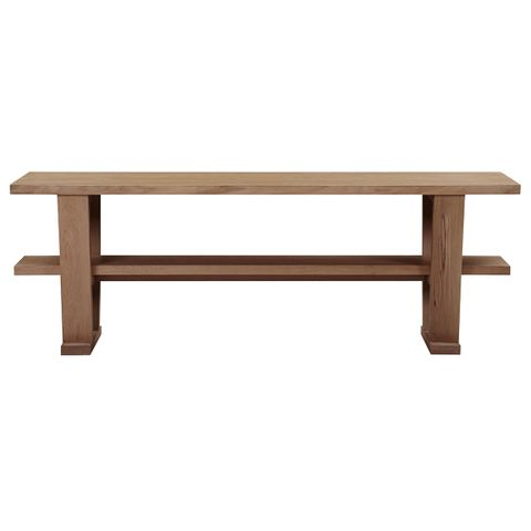Blaine Oak Console Table - Natural