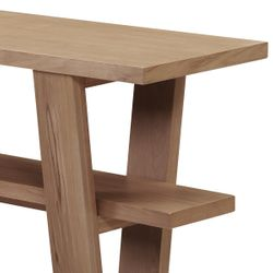 Blaine Oak Console Table - Natural